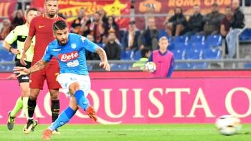 «Наполи» победил «Рому» в Риме, выиграв восьмой матч подряд