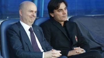 Гендиректор «Милана» высказался относительно возможной отставки Монтеллы