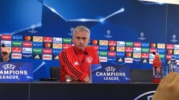 Моуринью объяснил футболистам «МЮ», что «Бенфика» намного сильнее ЦСКА и «Базеля»