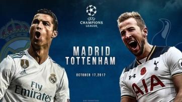 «Реал» - «Тоттенхэм», прямая онлайн-трансляция. Стартовые составы команд