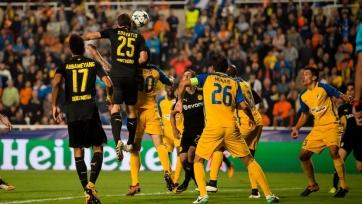 АПОЭЛ и «Боруссия» Дортмунд победителя не выявили