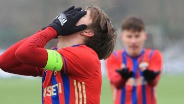 ЦСКА проиграл третий матч подряд в Юношеской лиге УЕФА