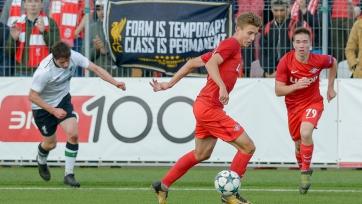 УЕФА наказал молодёжную команду «Спартака»