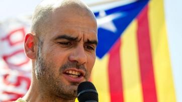 Гвардиола прокомментировал политический переворот в Каталонии