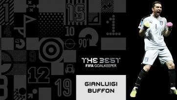 Буффон – лучший голкипер года по версии ФИФА