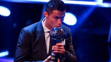 Роналду прокомментировал свою очередную награду