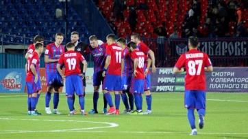 «СКА Хабаровск» повторил клубный рекорд