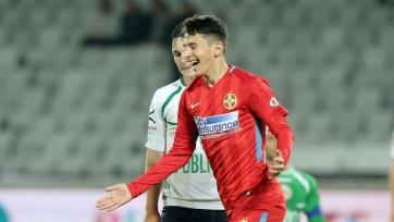 В Румынии за «Стяуа» забил 14-летний игрок