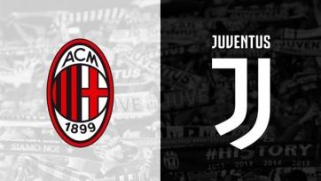 «Милан» - «Ювентус», прямая онлайн-трансляция. Стартовые составы команд