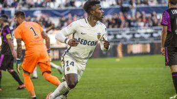 «Монако» взял верх в поединке с «Бордо»