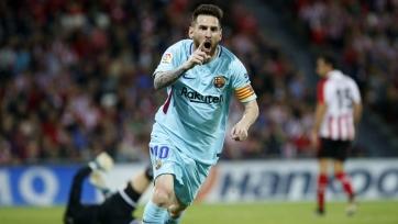 «Барселона» выстояла в Бильбао