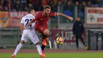 «Рома» минимально обыграла «Болонью»