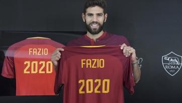 Официально: Фасио продлил контракт с «Ромой»
