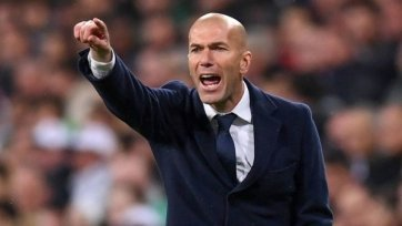 Зидан сравнил выступления «Реала» в ЛЧ и в Примере