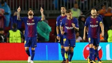 «Олимпиакос» - «Барселона», прямая онлайн-трансляция. Стартовый состав каталонцев