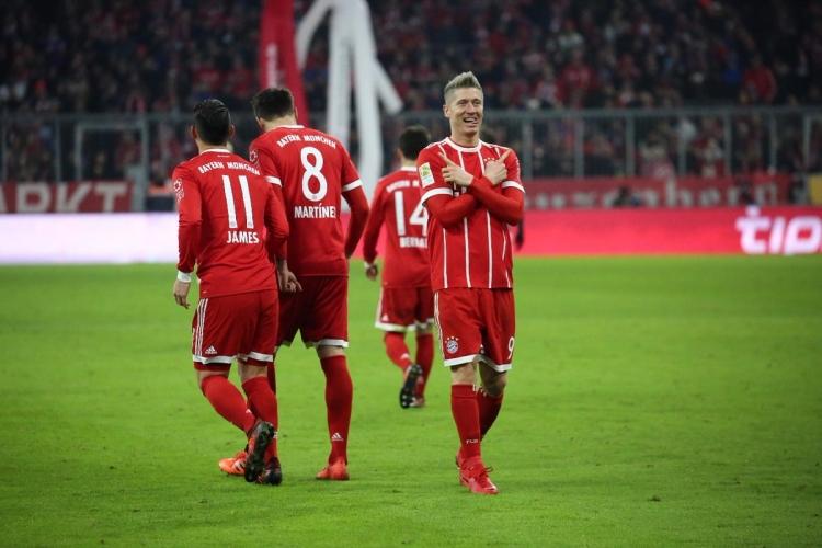 «Бавария» дома переиграла «Аугсбург»