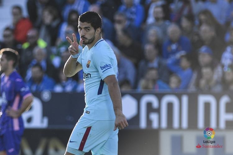 «Барса» отправила три сухих мяча в ворота «Леганеса»