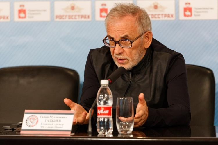 Гаджиев прокомментировал результат матча с Ростовом