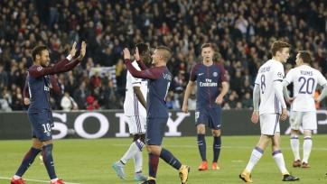 ПСЖ забил пять голов «Андерлехту» и вышел в плей-офф