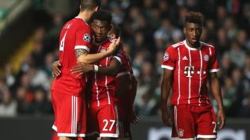 «Бавария» в гостях обыграла «Селтик» и вышла в плей-офф ЛЧ