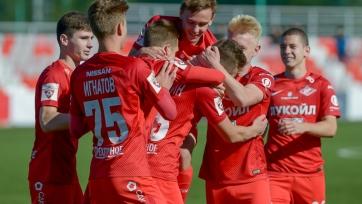 Юношеский «Спартак» забил три мяча в Севилье и спас ничью