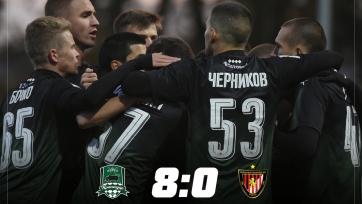 Молодёжь «Краснодара» забила «Гонведу» восемь голов