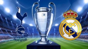 «Тоттенхэм» - «Реал», прямая онлайн-трансляция. Стартовые составы команд
