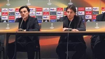 Монтоливо: «Милан» должен доказать, что заслуживает играть в Лиге Европы»