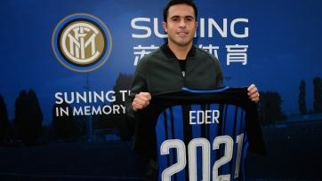 Официально: Эдер подписал новый контракт с «Интером»