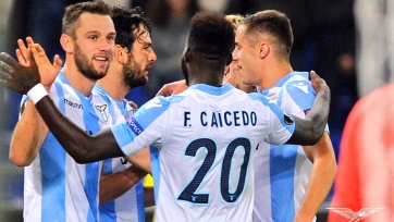 «Лацио» на последней минуте вырвал победу у «Ниццы»