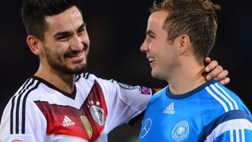 Гюндоган и Гётце вернулись в ряды немецкой сборной спустя год