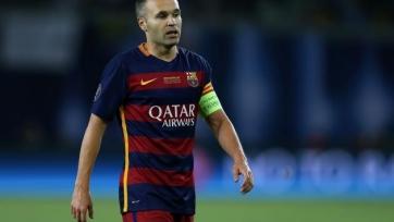 Иньеста поможет «Барселоне» в противостоянии с «Севильей»