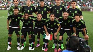 Сборная Мексики презентовала форму к ЧМ-2018 (фото)