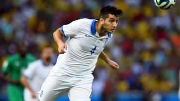 Манолас не сыграет в стыковом матче против сборной Хорватии