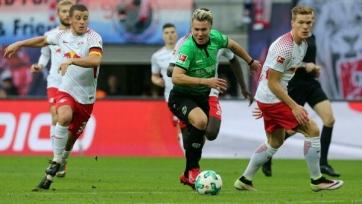 «РБ Лейпциг» добыл волевую победу над «Ганновером» и другие результаты немецкого тура
