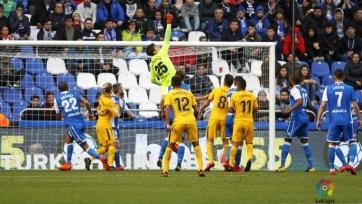 «Атлетико» выиграл в дуэли с «Депортиво»