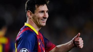 Месси проводит 600-й матч за «Барселону»