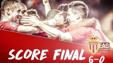 «Монако» загрузил шесть мячей в ворота «Генгама»