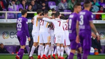 «Рома» на выезде переиграла «Фиорентину»