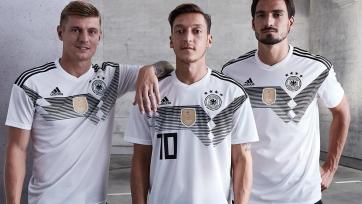 Немцы презентовали форму, в которой будут играть на ЧМ-2018