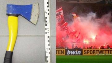 Фанат «Боруссии» угрожал подросткам топором в цветах клуба
