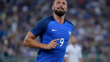 Жиру травмировался на тренировке сборной Франции