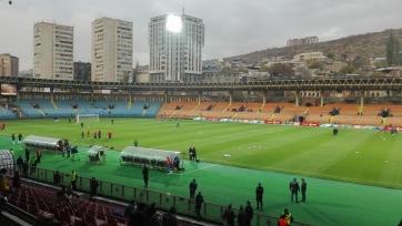 Сборная Армении разгромила Беларусь
