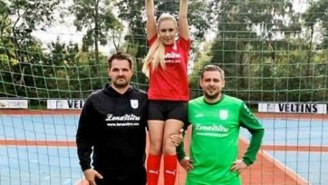 Немецкому клубу запретили использовать имя порнозвезды на футболках