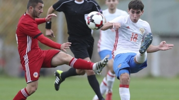 Российская «молодёжка» переиграла армянскую