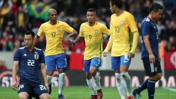 Бразильцы трижды поразили ворота сборной Японии