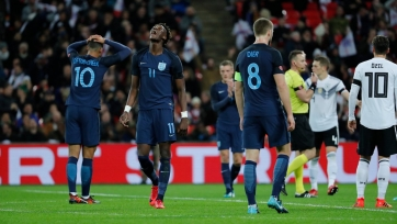 Англия и Германия закончили без голов