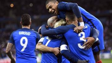 Франция расправилась с Уэльсом