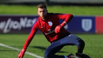 В сборную Англии вызван вратарь «Манчестер Сити»
