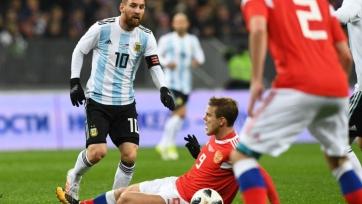 Сборная России проиграла Аргентине на обновлённых «Лужниках»